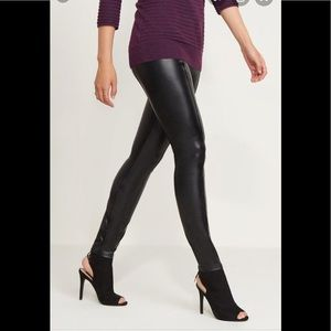 NWT Dynamite High Waisted Faux Leather Leggings